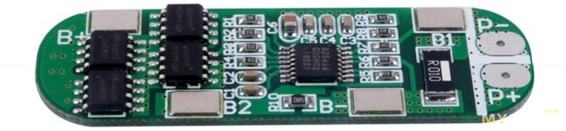 Схема балансира для li ion аккумуляторов