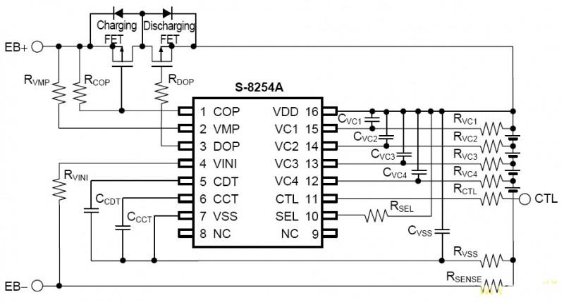 3s схема аккумуляторы