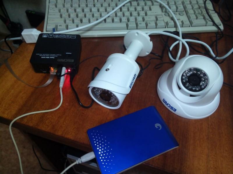 Видеорегистратор и ip камера