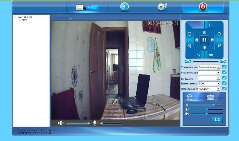 IP камера Zmodo ZH-IXB1D-WAC для домашнего применения с зачатками