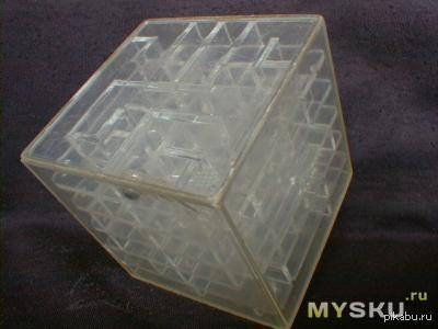 У меня в детстве был такой кубик