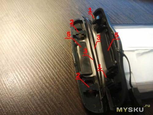 Схема работы механизма закрывания влагозащитного чехла с ebay