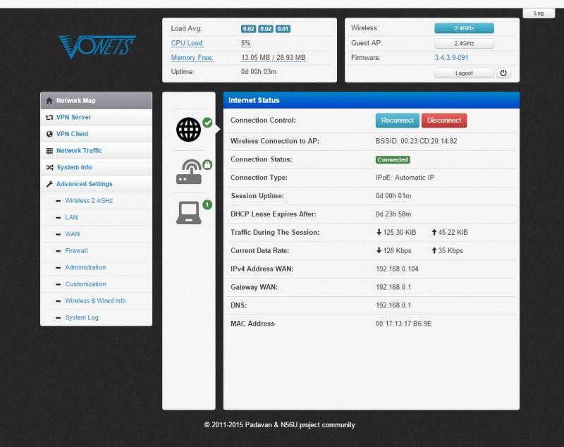 Прошиваем роутеры фирмы VONETS - MINI300, VAR N11 PLUS