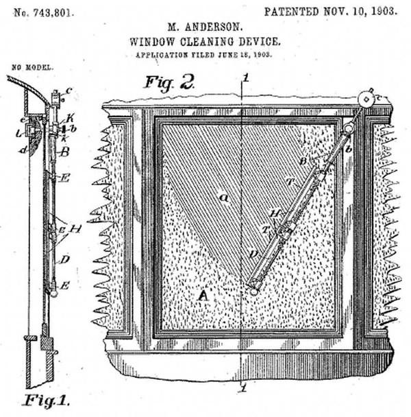 1 - История стеклоочистителей