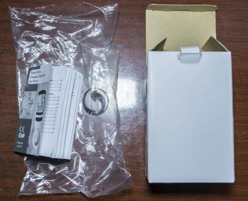 Коробка и инструкция