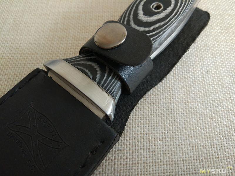 зачем на ноже кожаный ремешок