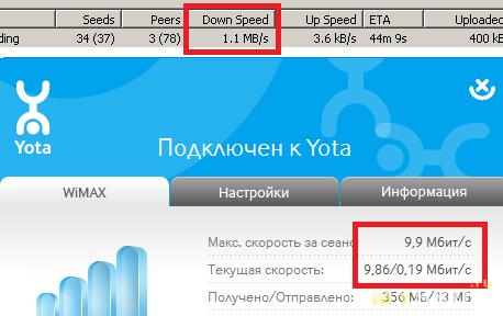 Yota WiMAX