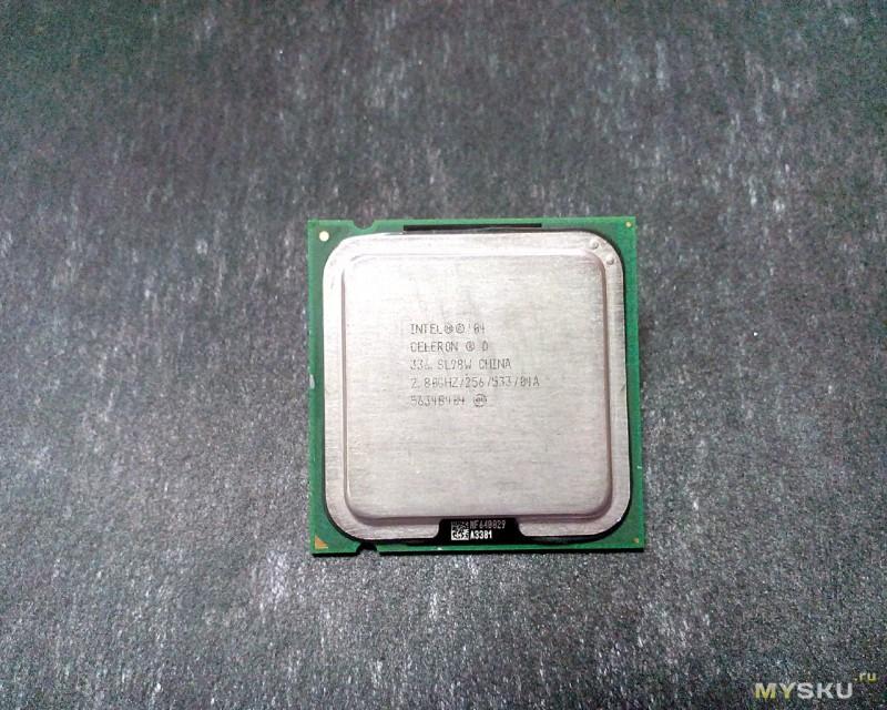 Intel Celeron В 336