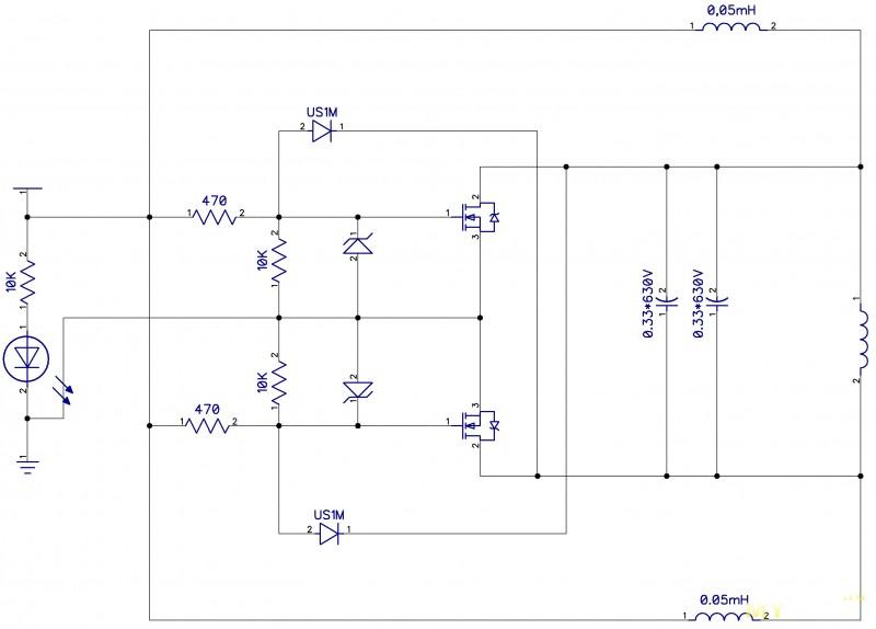 Схема для индукционного нагревателя своими руками 164
