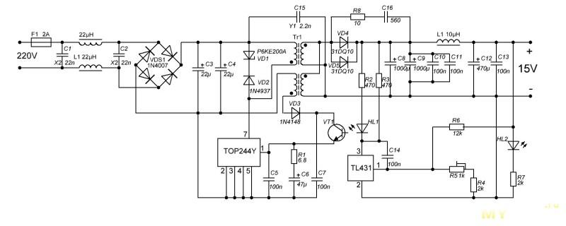 ШИМ контроллер на 12 вольт 59