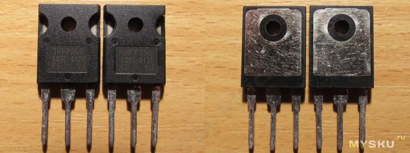 Низковольтный транзистор на 30 ампер
