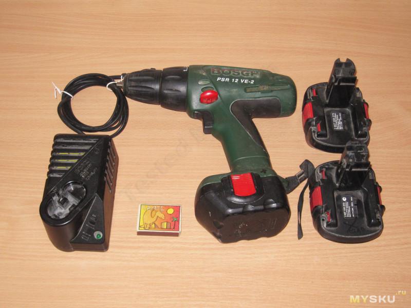 Аккумулятор для шуруповерта из акб от ноутбука 136