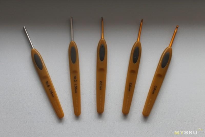 Крючки для вязания Clover - все размеры в наличии, доставка 29