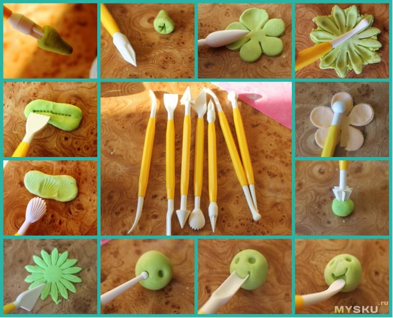 Свадебные торты и цветы из домашней мастики своими руками 11