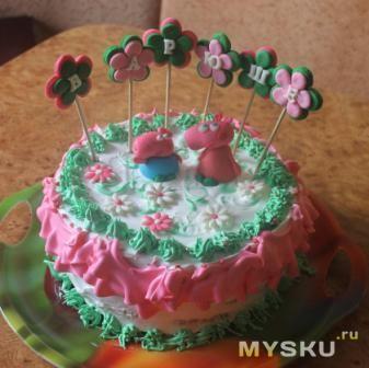 Торт корзинка для мамы фото 9