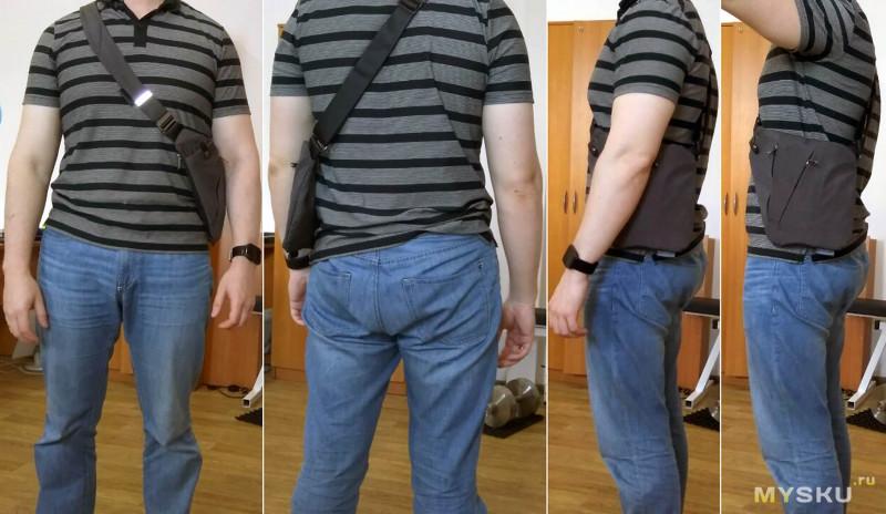 277a50519358 Многофункциональная мужская сумка-кобура NIID FINO через плечо: кому ...