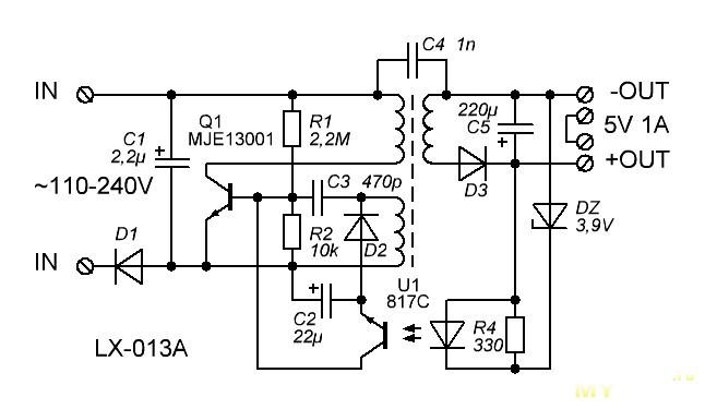 Зарядное устройство для планшета схема фото 757