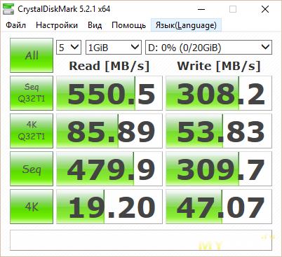 Обзор SSD Kingspec P3D на 120Гб