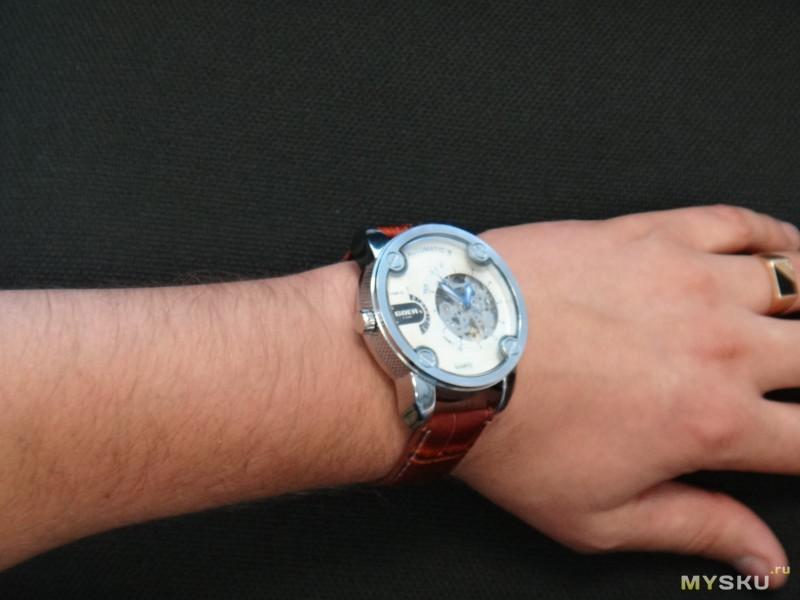 Купить часы на руку diesel quartz