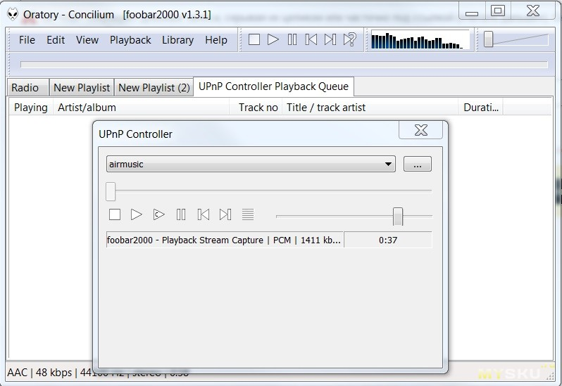 WiFi HI-FI приемник аудиосигнала по протоколам Airplay и
