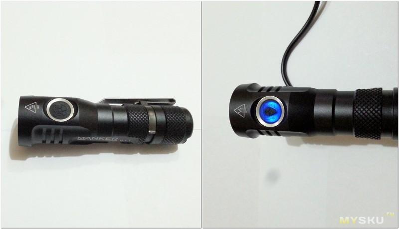 Компактный EDC дальнобой со встроенной зарядкой и настройкой режимов «под себя» – фонарик Manker U11