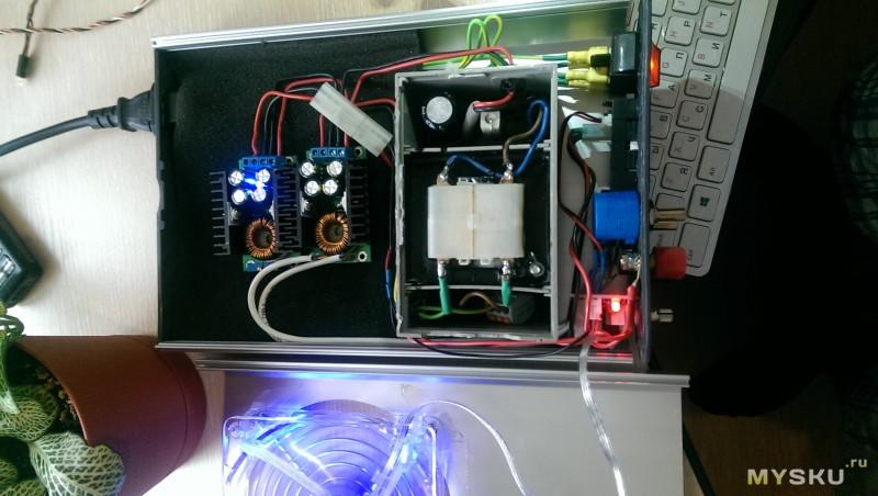 самодельное универсальное зарядное устройство из Dc сс преобразователя