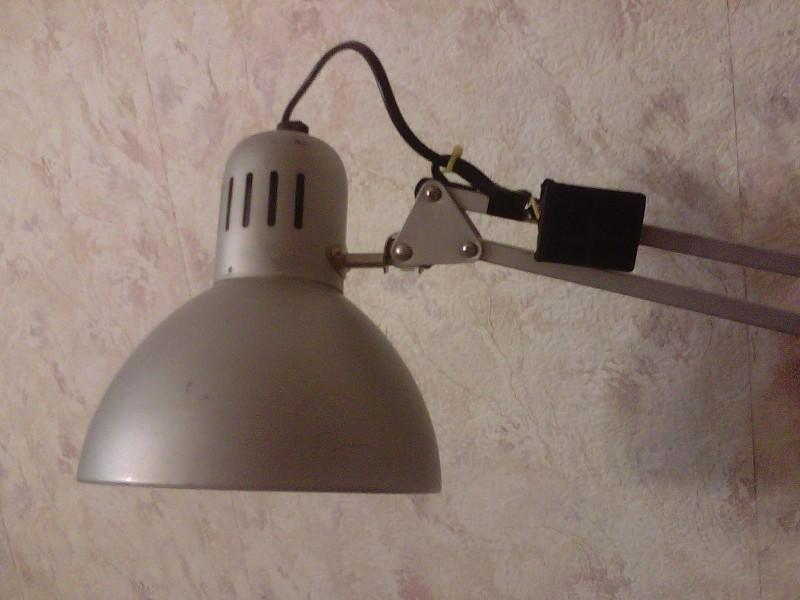 Вид на лампе 2