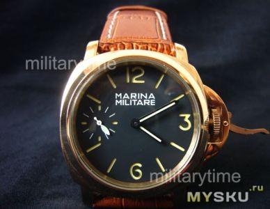 37df63ce10a7 Кварцевые часы Megir (Почти Panerai)