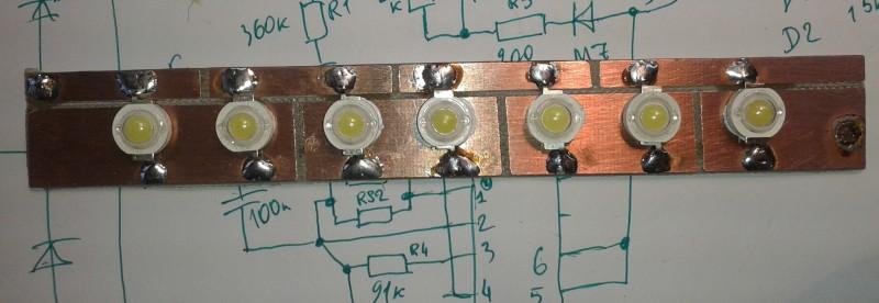 Схема подключения 3w светодиода фото 531
