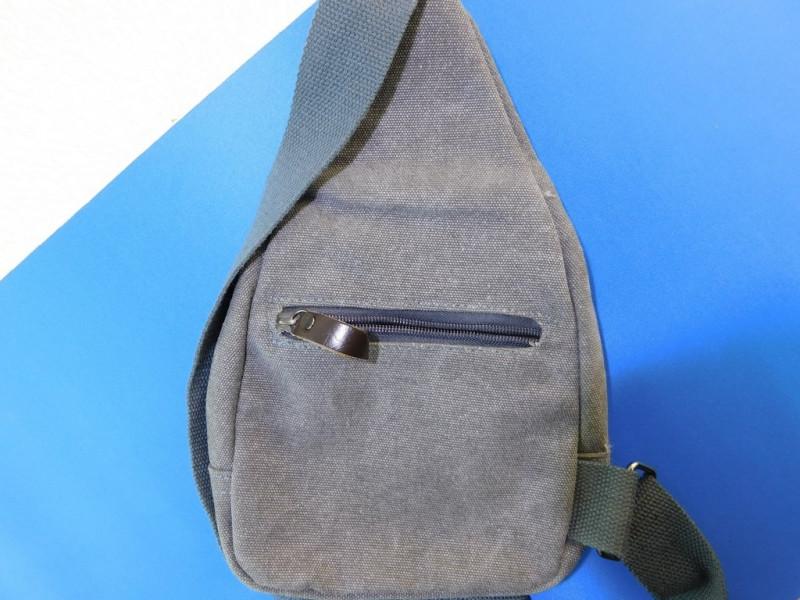 GearBest: Удобная однолямочная сумка из канваса