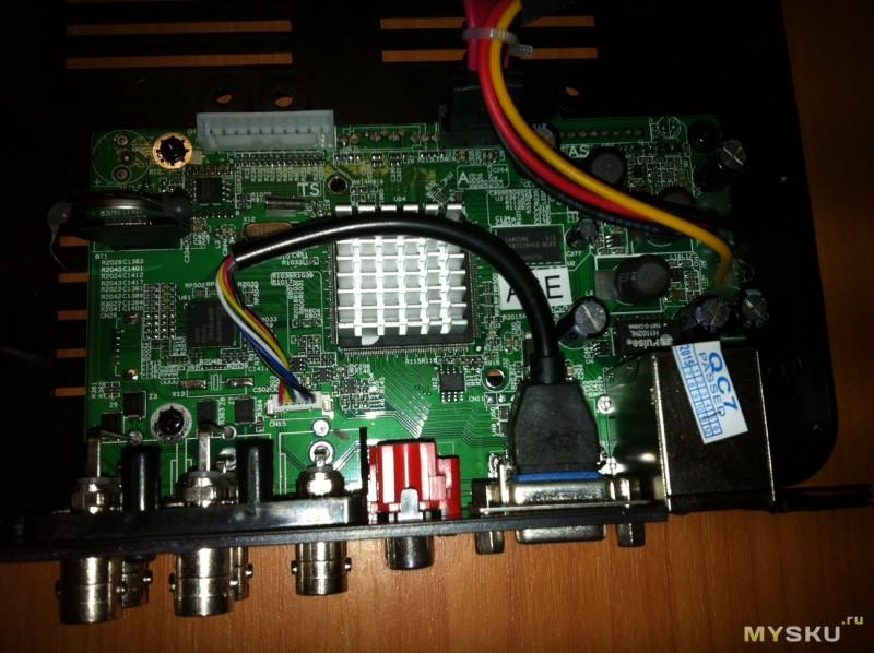 DVR-NVR H 264 4-х канальный видеорегистратор  Впечатления 9 месяцев