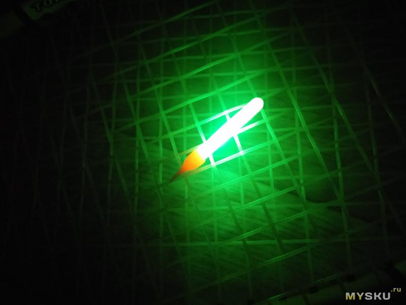 Светлячок для ночной рыбалки как сделать своими руками