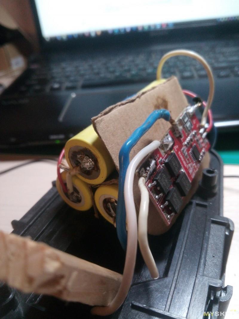 xzd 3s1550 схема подключения 3 аккумуляторов