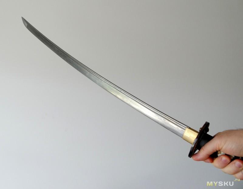 <span>Готовимся к нашествию зомби - реплика японского меча катаны</span>