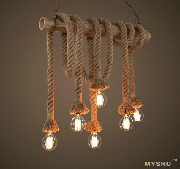 Светильники с лампами эдисона своими руками 70