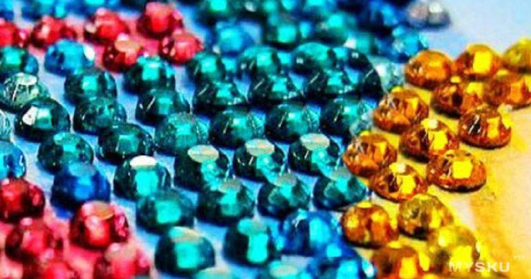 Вышивка алмазная таобао