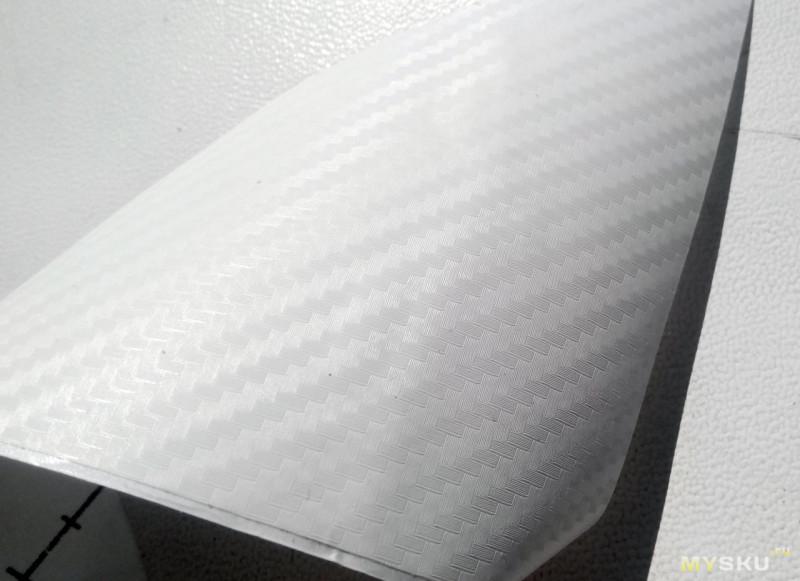 <span>Виниловая пленка (имитация карбона) для оклейки в быту.</span>