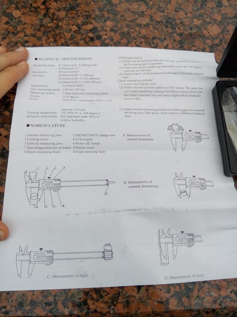 измерения штангенциркулем инструкция