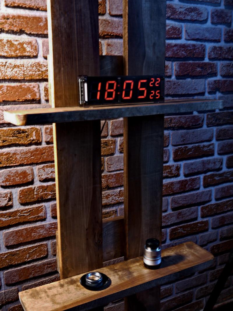 Электронные настольные зеркальные часы ts-s69