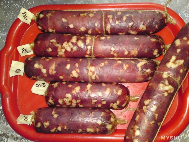 Коллагеновая оболочка калибра 45 мм для сыровяленных колбас и не только
