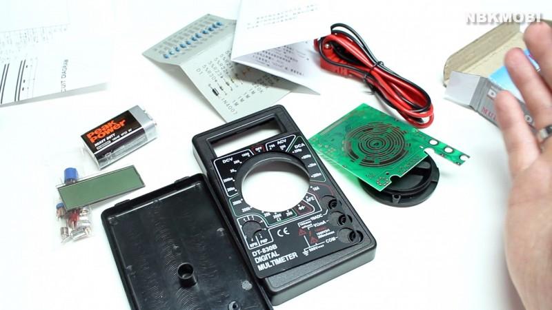 Мультиметр dt 830b digital инструкция