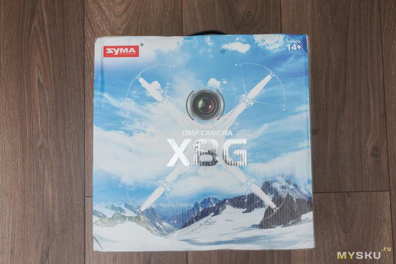 Разбираем коптер Syma X8G 8MP и ставим FPV