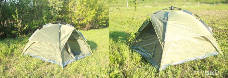 Сженой в палатке русское фото 378-187