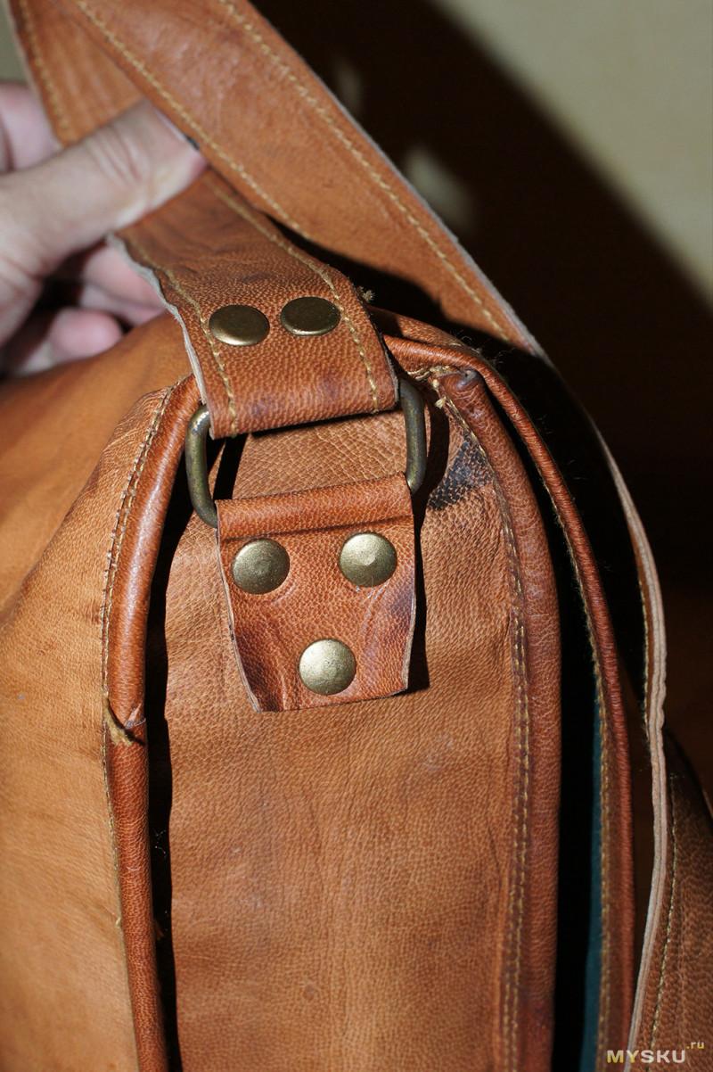 46c2e150816d Вообще сумка идет как винтажная, и фарнитура на ней потертая либо ржавая)