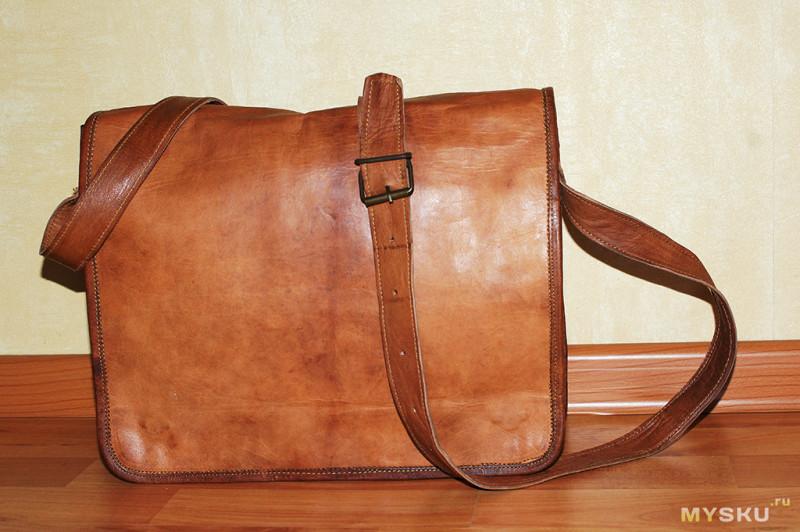 d45e4bbfc82c Винтажная сумка из Индии (Натуральная кожа)