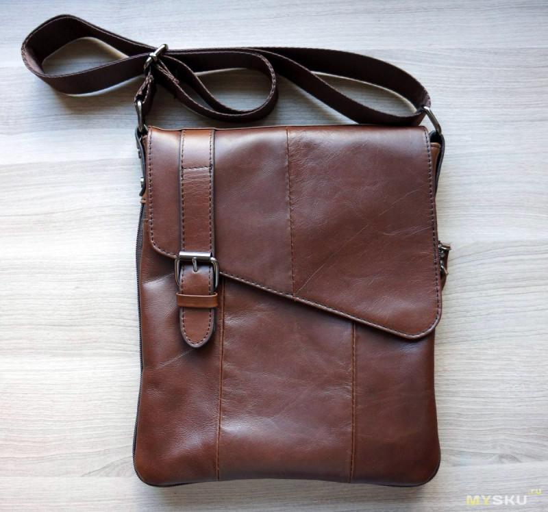 927af2f438fa На обзоре сумка фирмы MARRANT из, как заявлено продавцом, натуральной кожи.  Понюхаем, пощупаем, попробуем проверить… Сначала фото самого товара: