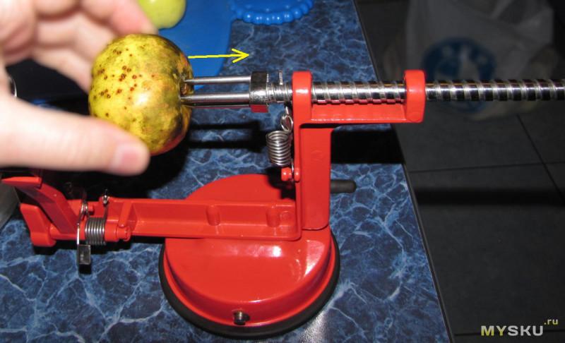 Приспособление для удаления сердцевины яблок своими руками 77